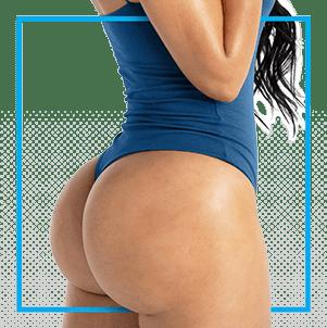 buttocks after bbl procedure